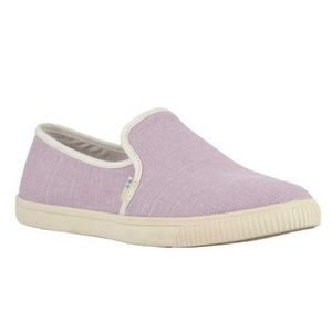 TOMS Clemente Lilac slip on sneakers